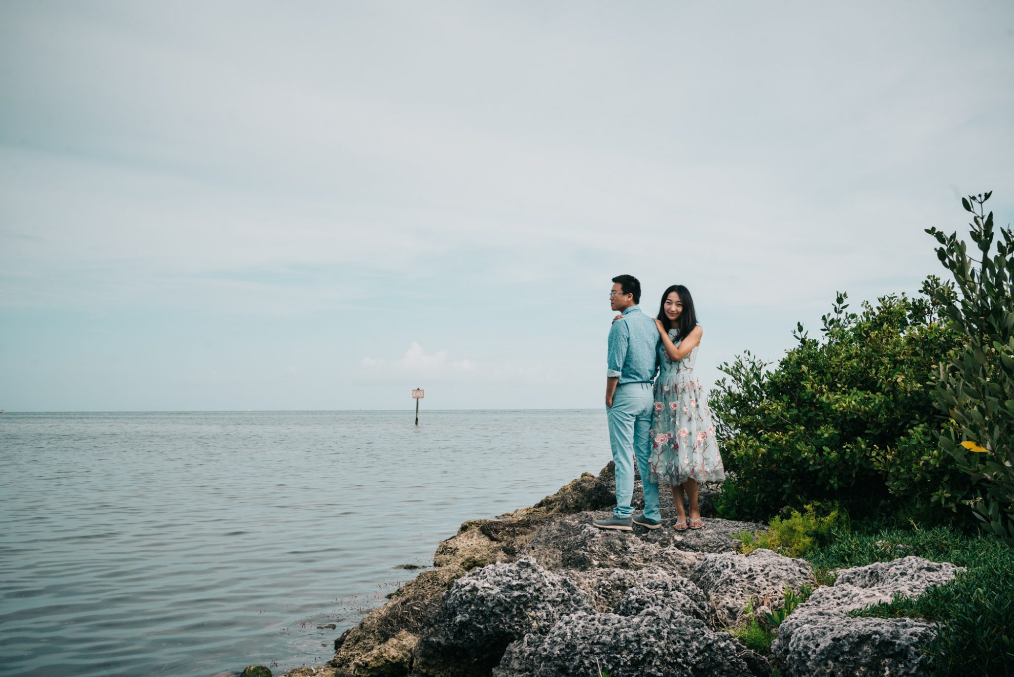 FBF1338 - Xiao & Ying | Key West, FL | Engagement Sunset Session