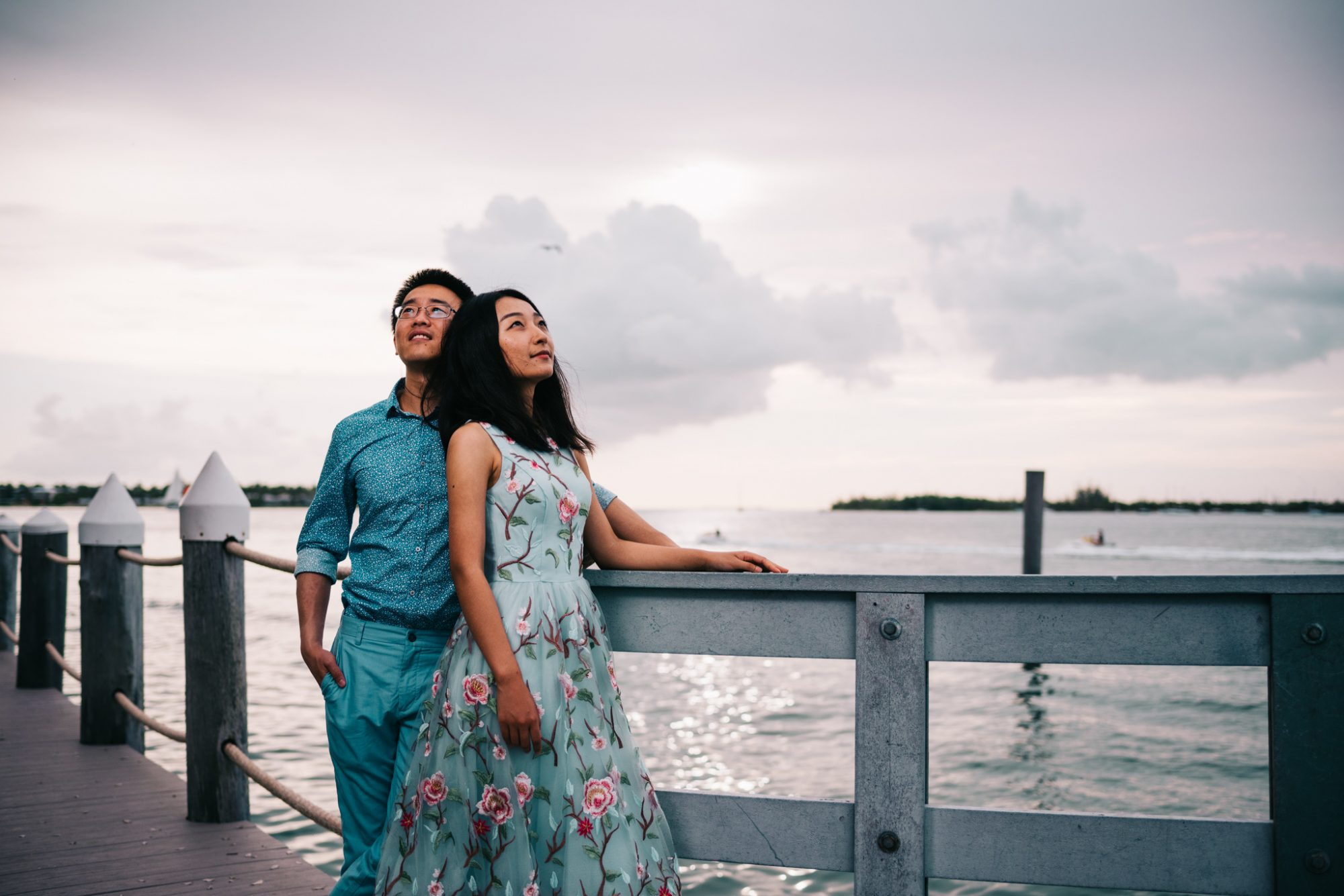 FBF1455 - Xiao & Ying | Key West, FL | Engagement Sunset Session