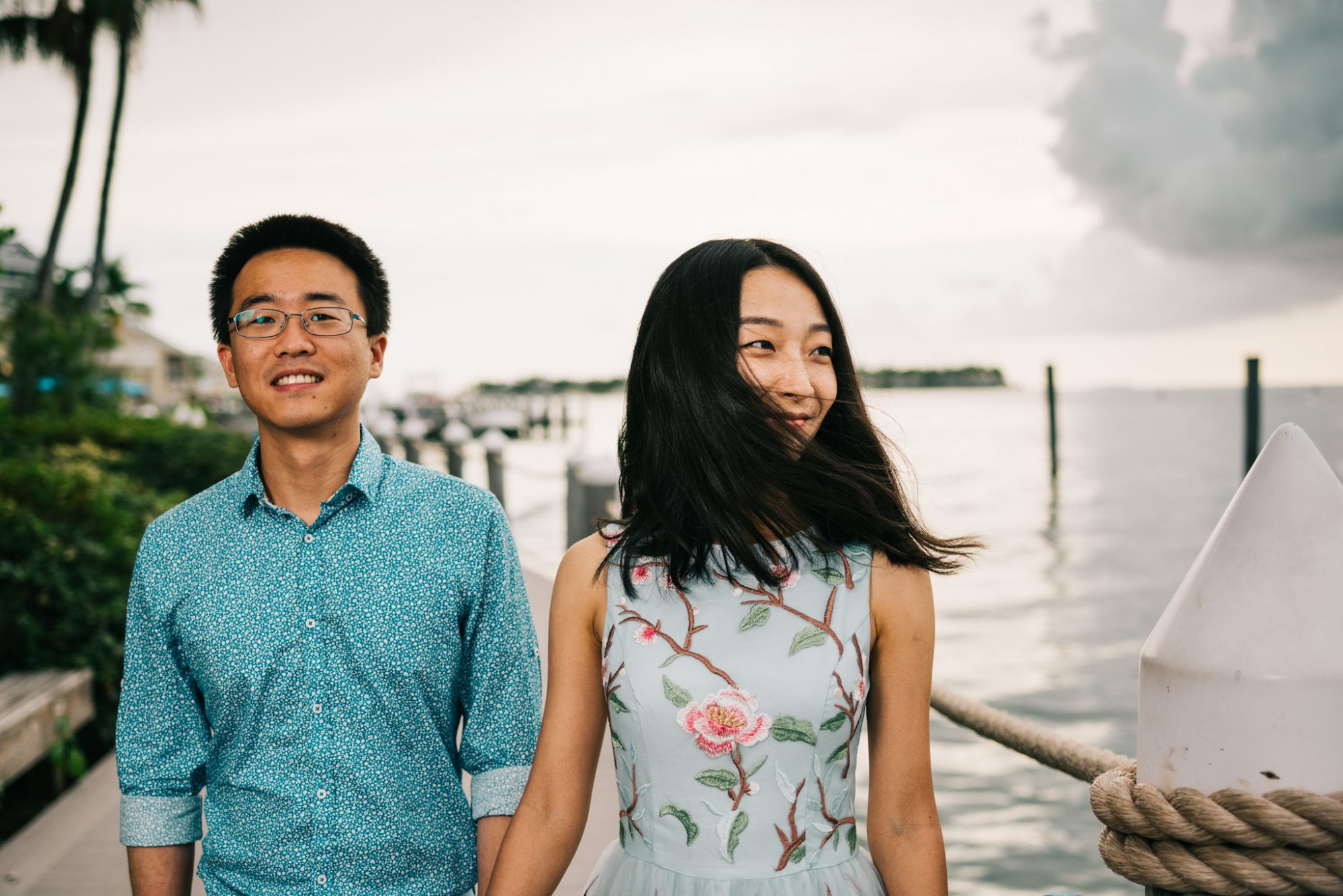 FBF1466 - Xiao & Ying | Key West, FL | Engagement Sunset Session