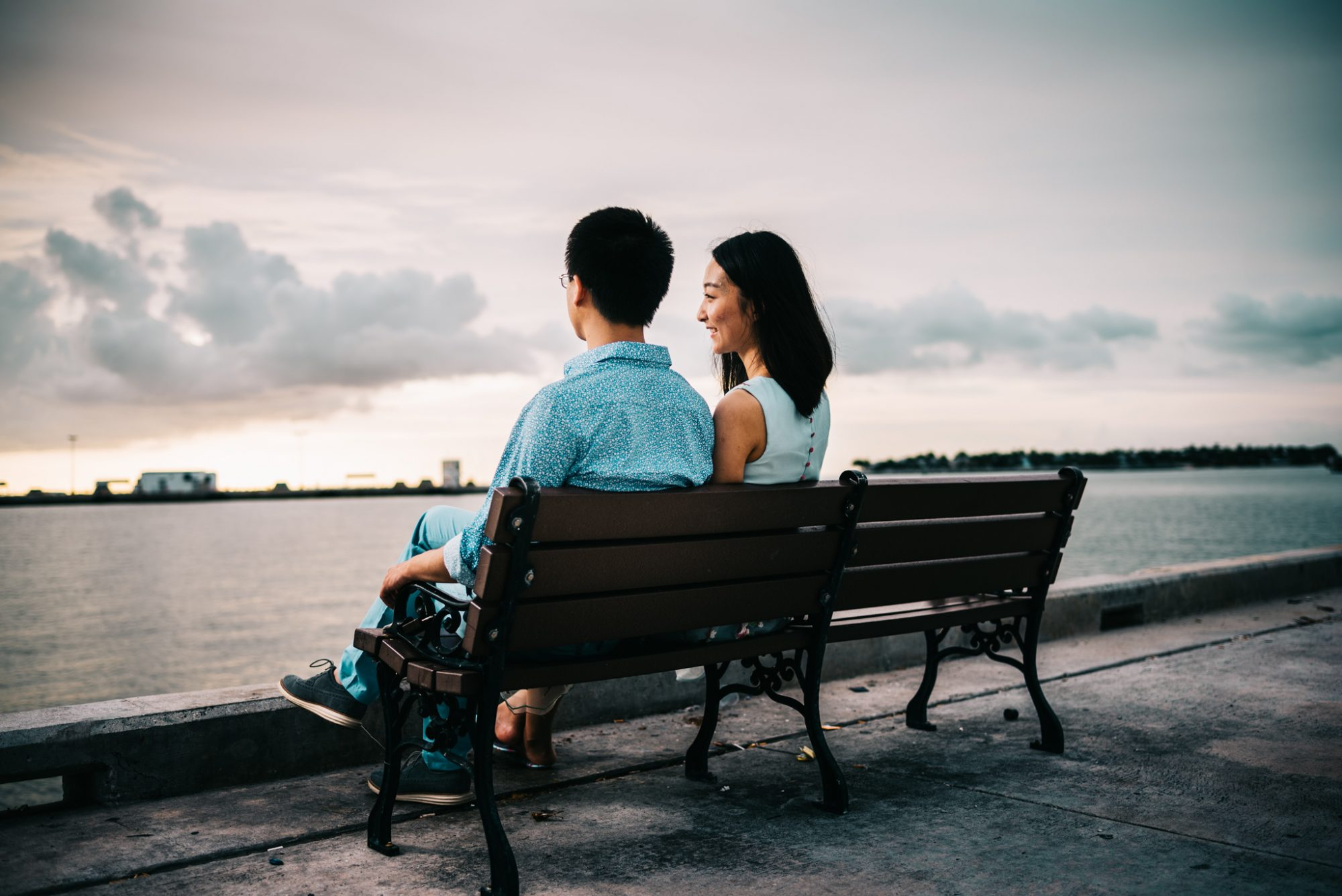 FBF1475 - Xiao & Ying | Key West, FL | Engagement Sunset Session