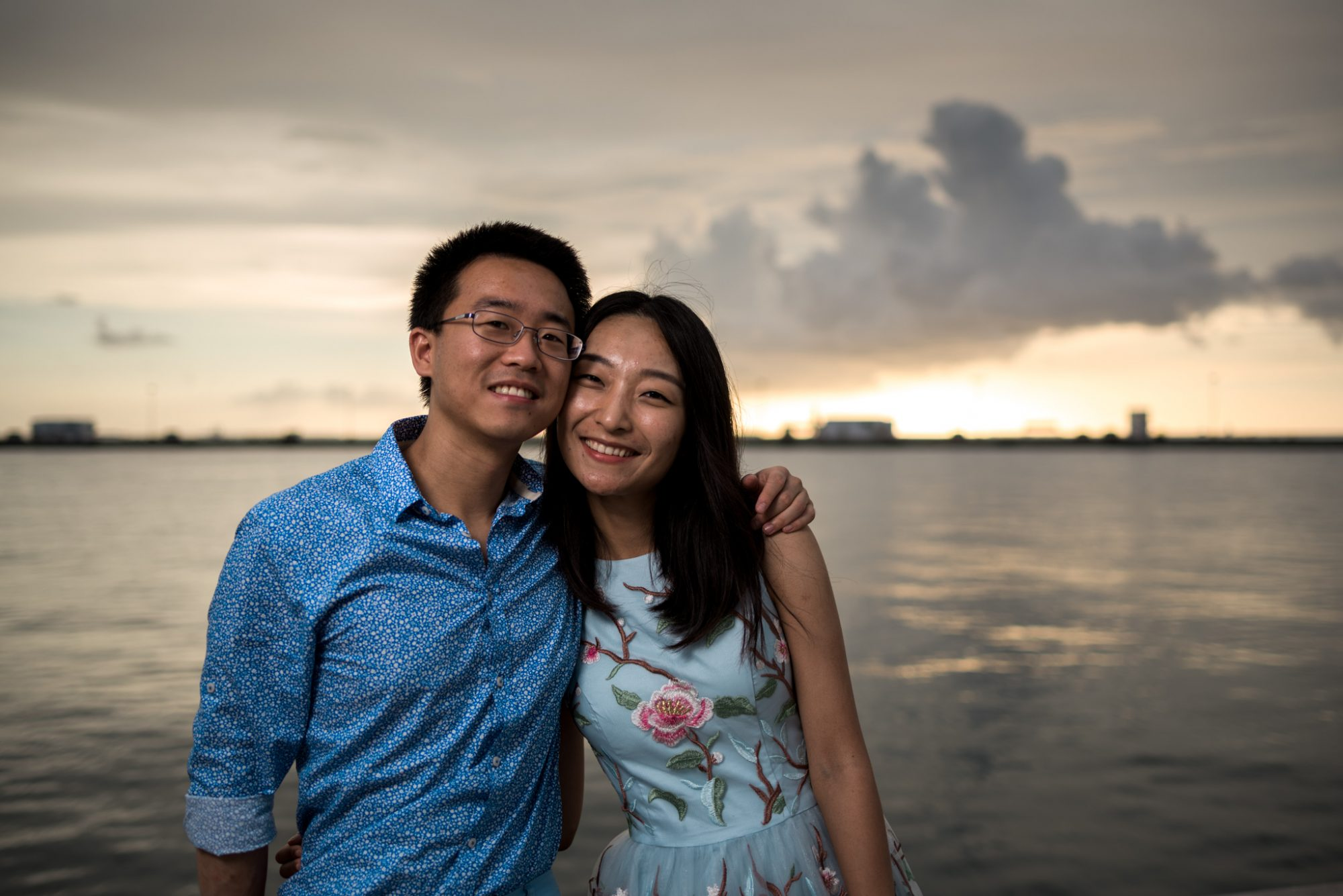 FBF1497 - Xiao & Ying | Key West, FL | Engagement Sunset Session