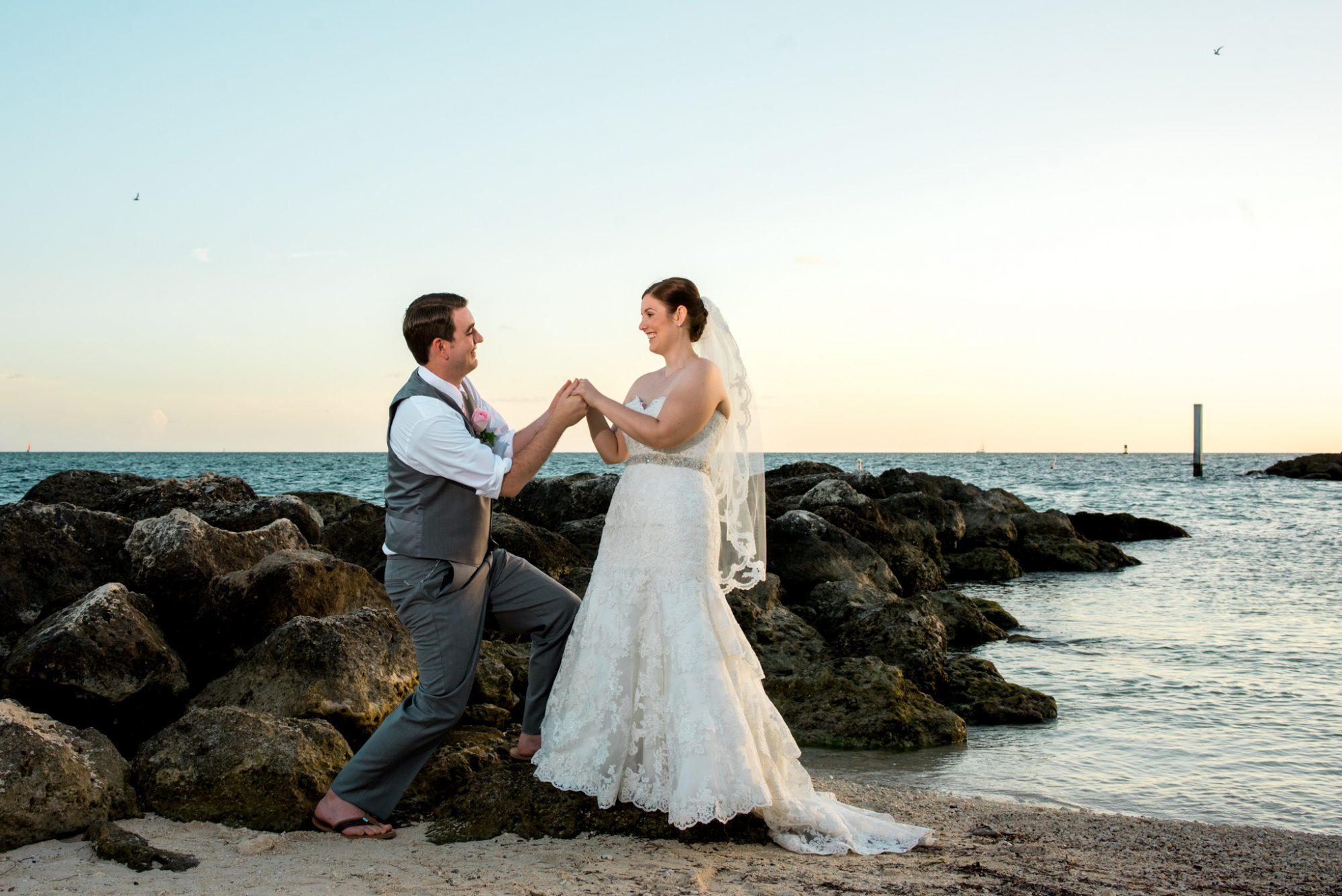 Heather Jeff Key West Wedding Photographer Fort Zachary Taylor 29 - Heather & Jeff - Key West Wedding Photographer - Fort Zachary Taylor