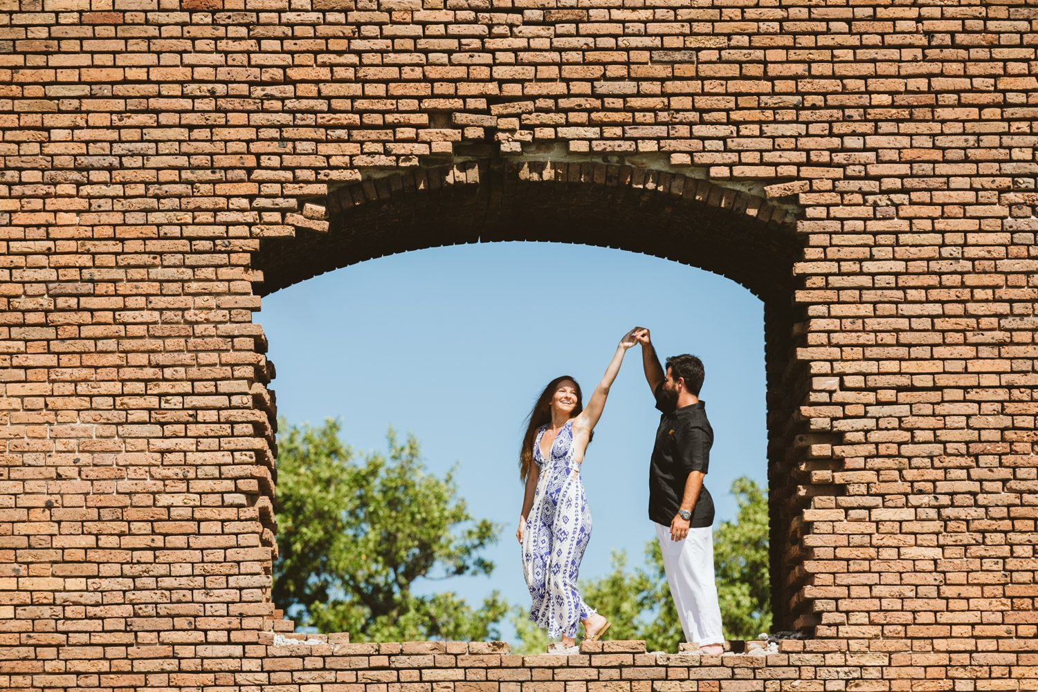 Katherine Oscar Engagement Photos Dry Tortugas 28 - Island Adventure Engagement Session - Dry Tortugas National Park and Fort Jefferson
