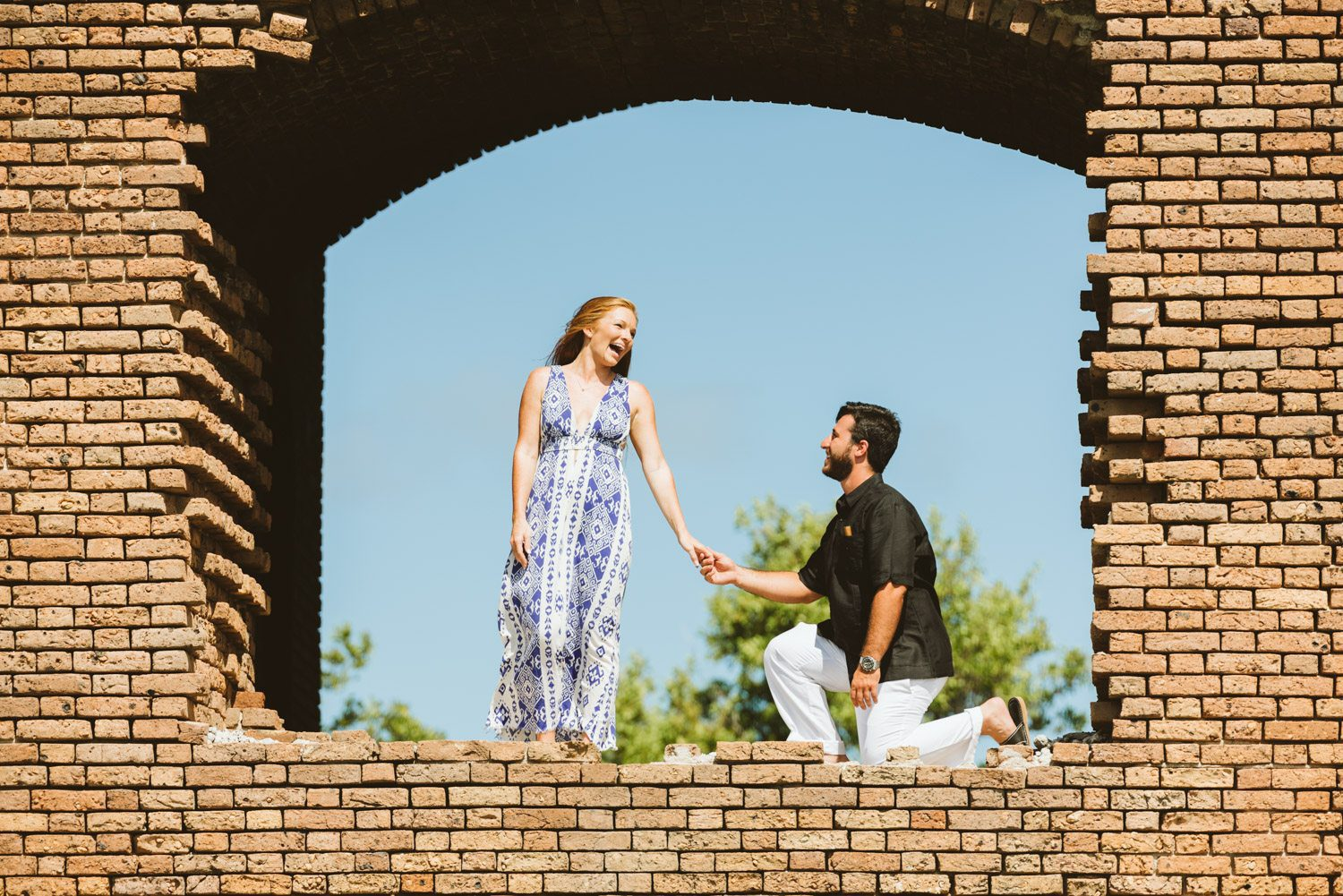 Katherine Oscar Engagement Photos Dry Tortugas 29 - Island Adventure Engagement Session - Dry Tortugas National Park and Fort Jefferson
