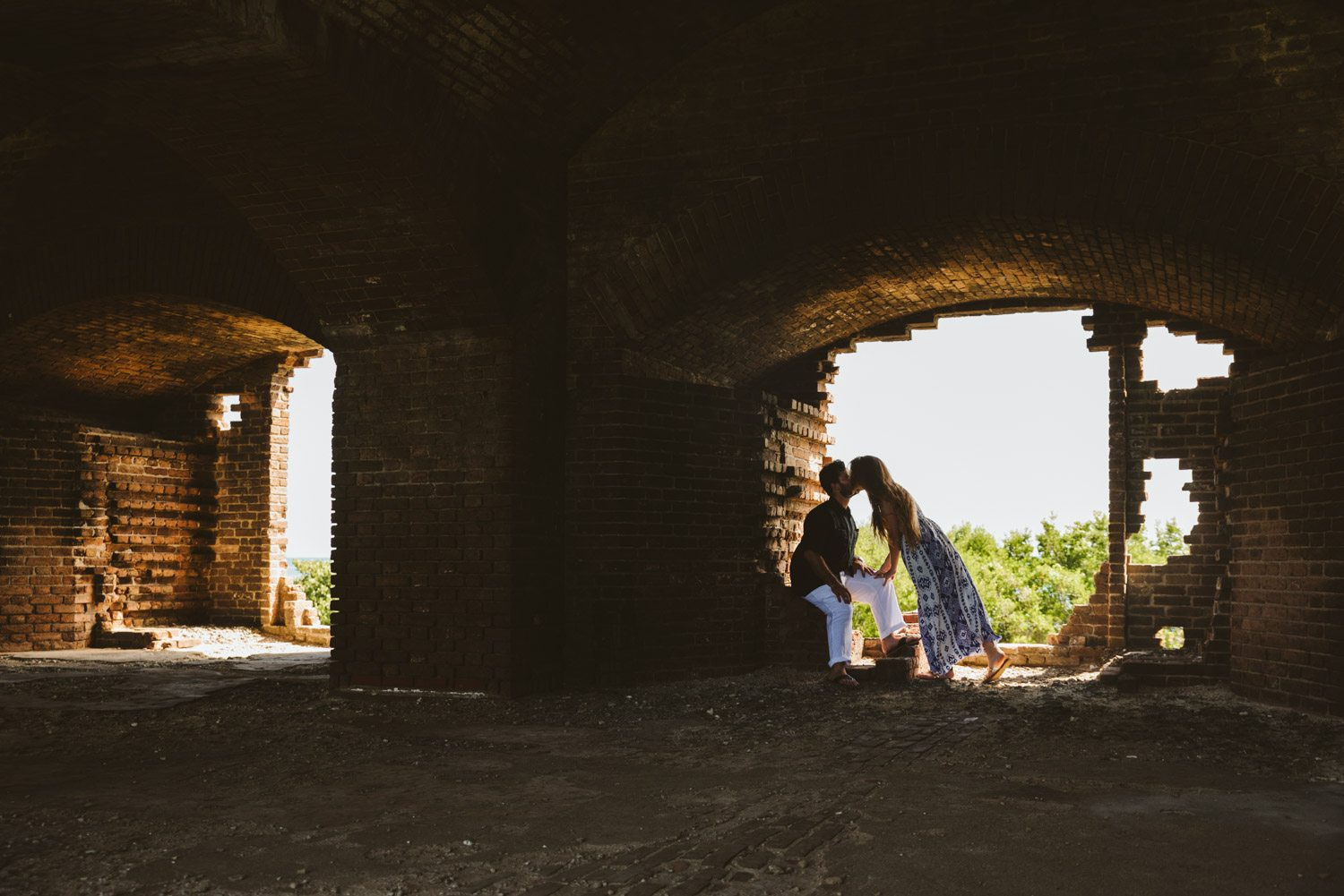 Katherine Oscar Engagement Photos Dry Tortugas 35 - Island Adventure Engagement Session - Dry Tortugas National Park and Fort Jefferson