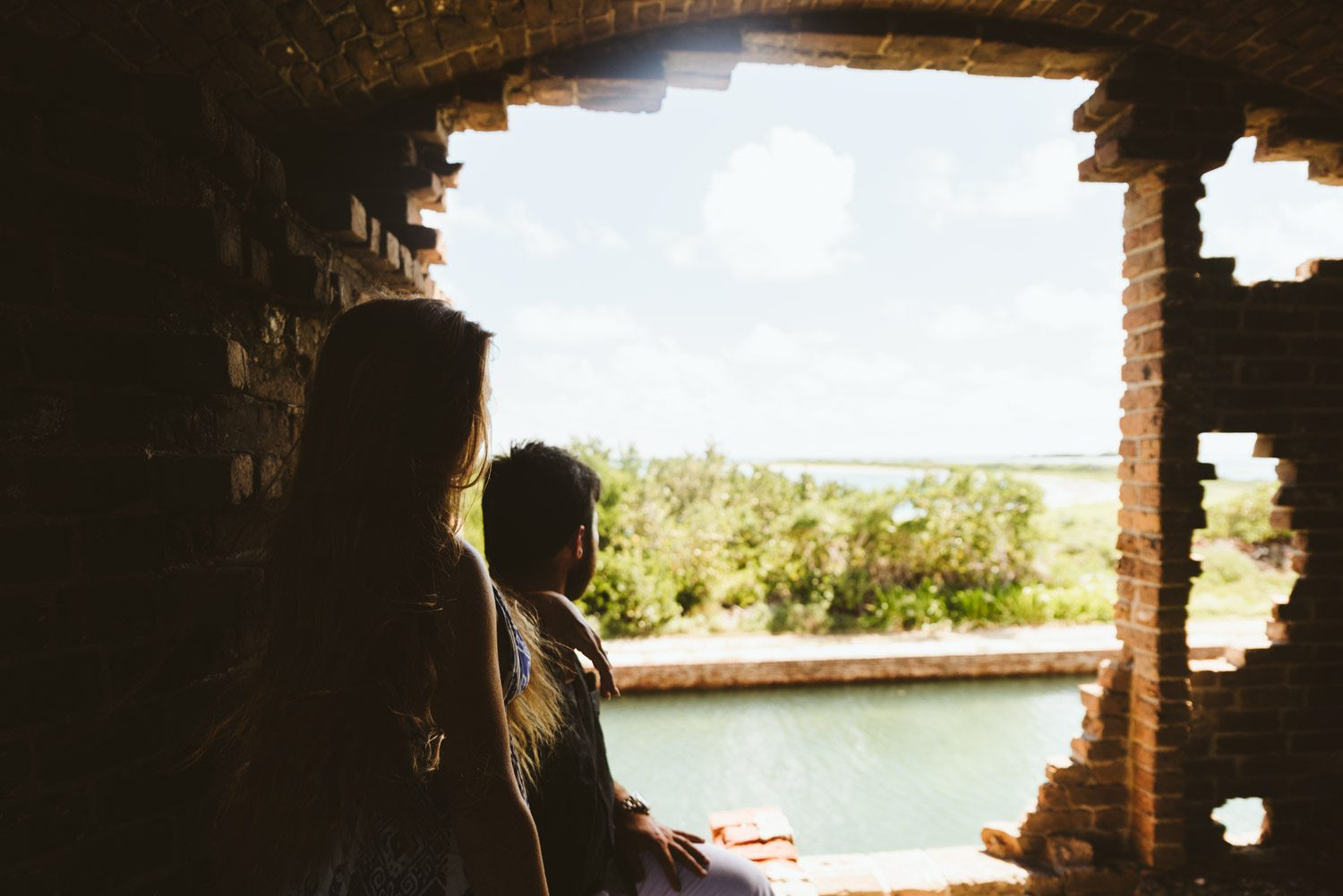 Katherine Oscar Engagement Photos Dry Tortugas 36 - Island Adventure Engagement Session - Dry Tortugas National Park and Fort Jefferson