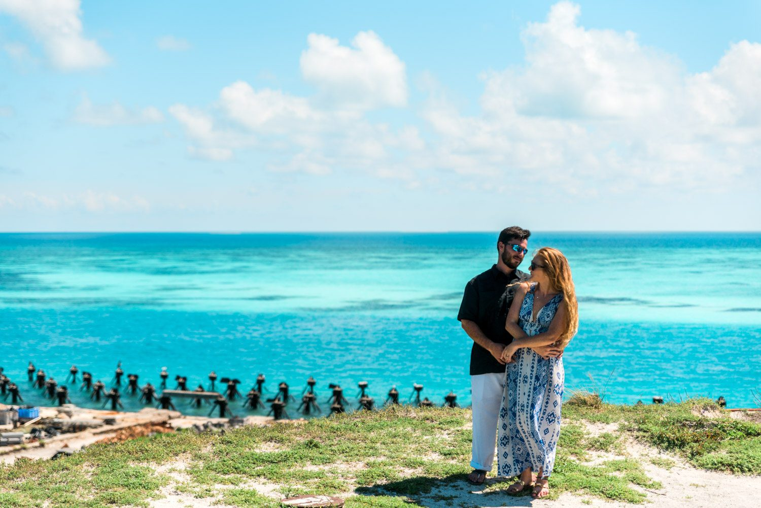 Katherine Oscar Engagement Photos Dry Tortugas 44 - Island Adventure Engagement Session - Dry Tortugas National Park and Fort Jefferson