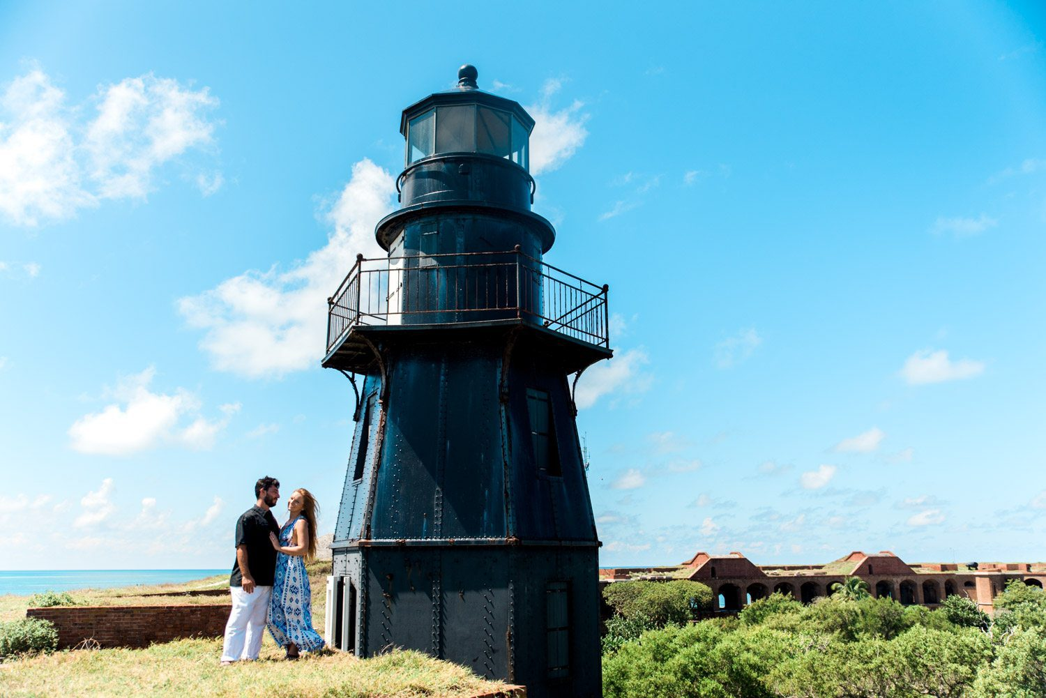 Katherine Oscar Engagement Photos Dry Tortugas 47 - Island Adventure Engagement Session - Dry Tortugas National Park and Fort Jefferson