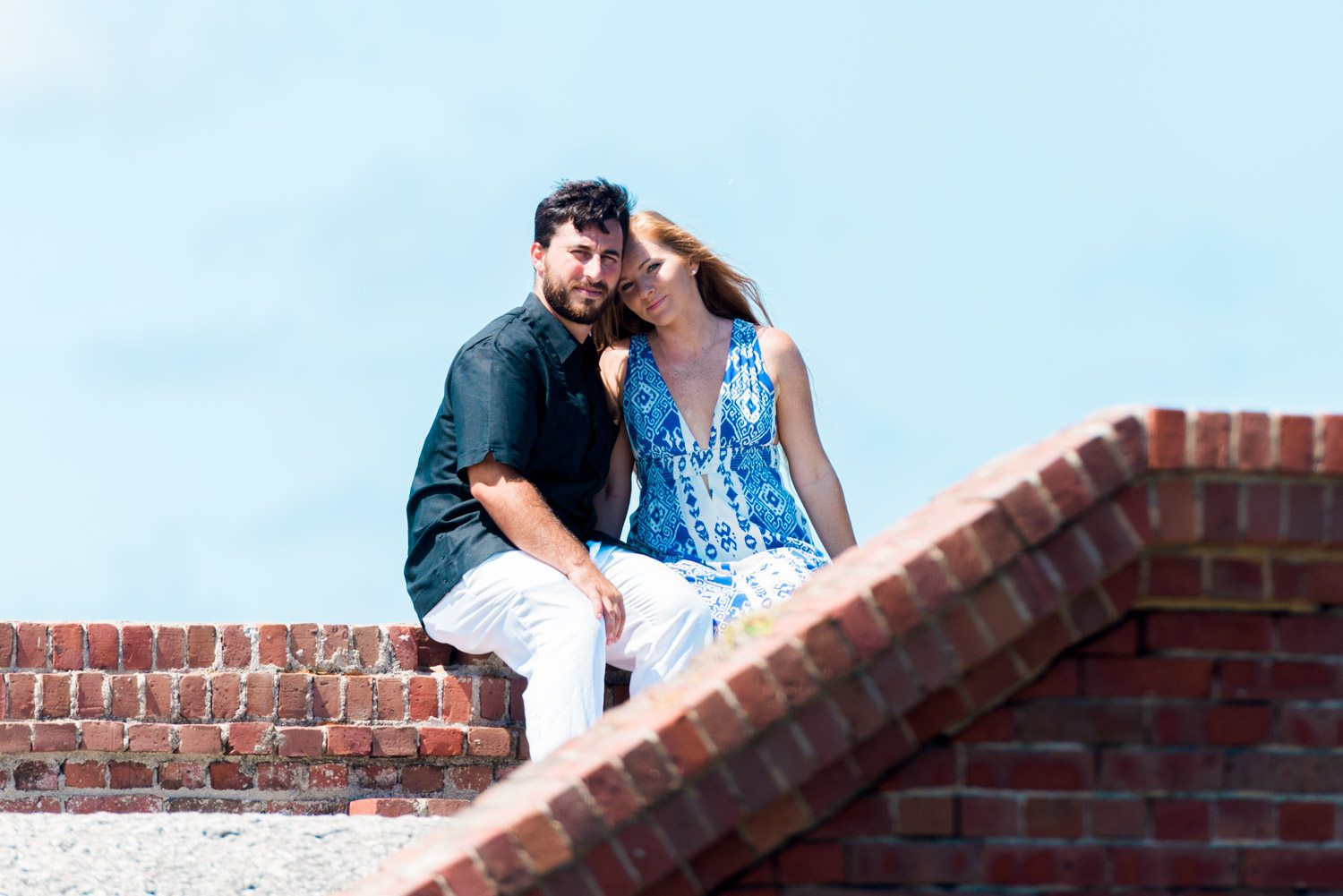 Katherine Oscar Engagement Photos Dry Tortugas 50 - Island Adventure Engagement Session - Dry Tortugas National Park and Fort Jefferson