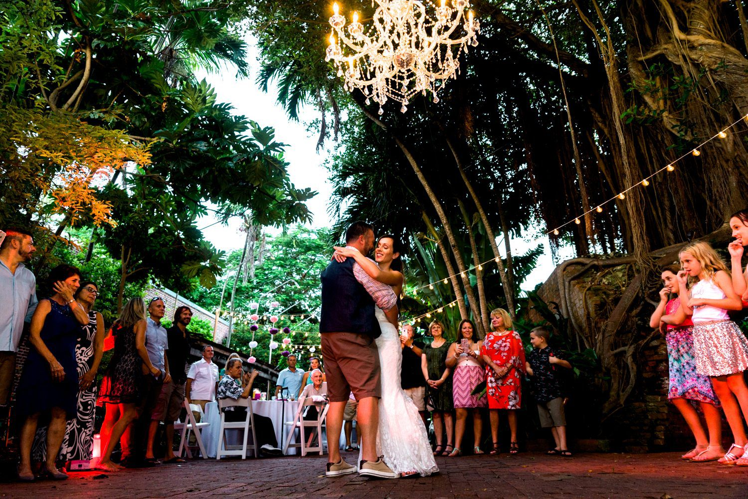 Tracey Joe Key West Garden Club 33 - Tracey & Joe | Key West Wedding Photographer | Key West Garden Club