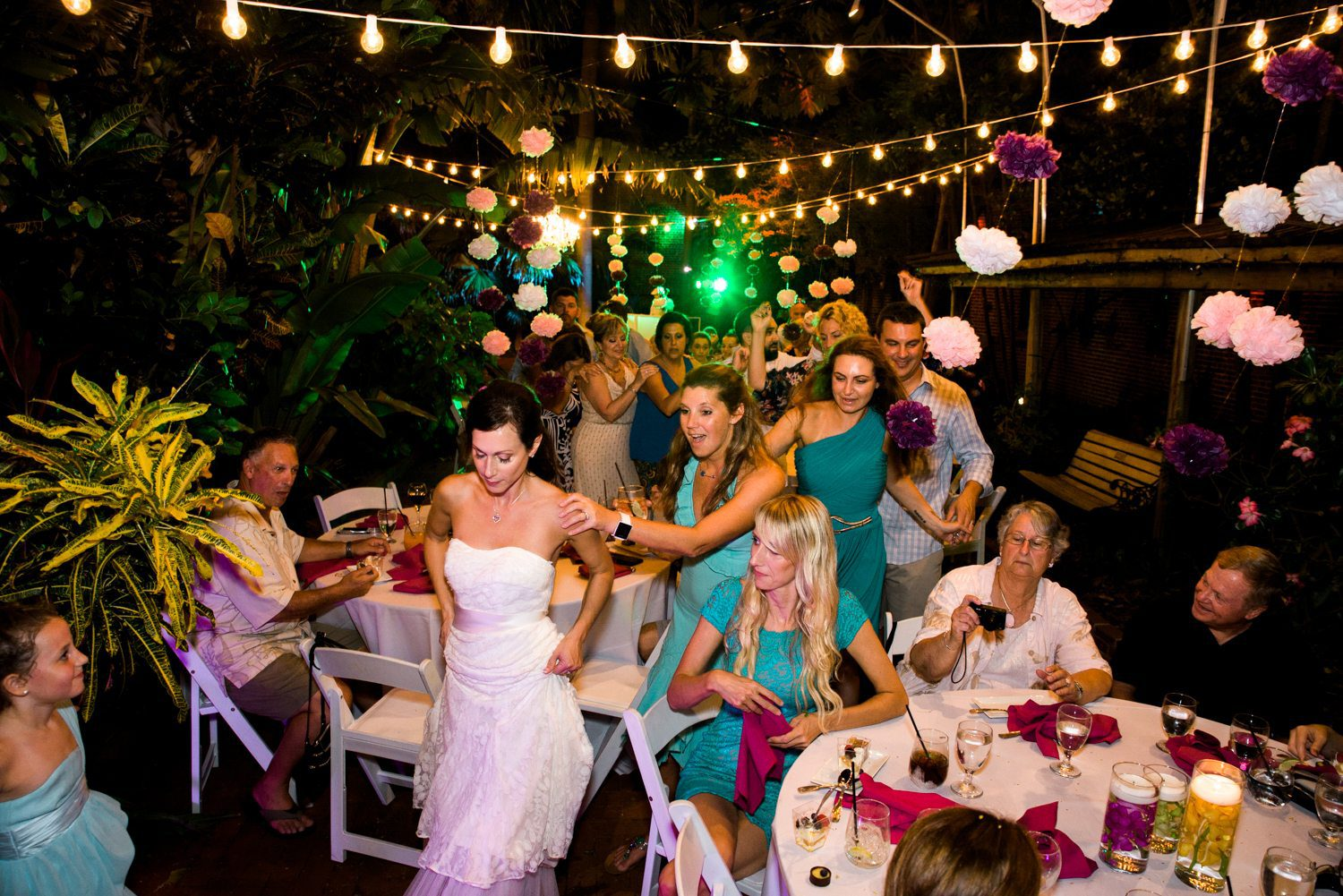 Tracey Joe Key West Garden Club 42 - Tracey & Joe | Key West Wedding Photographer | Key West Garden Club