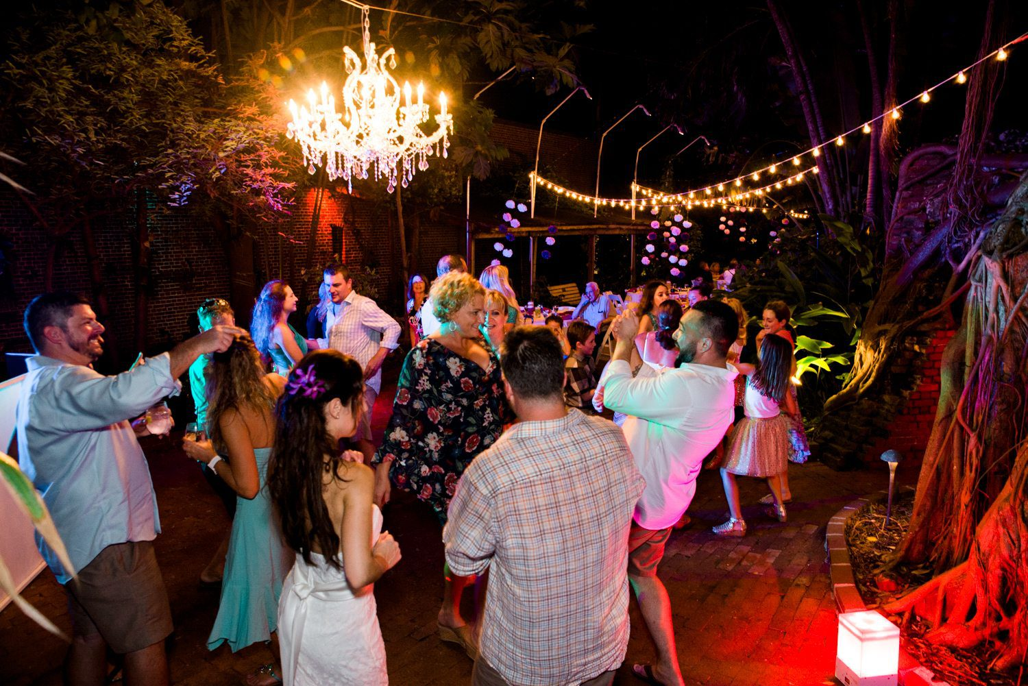 Tracey Joe Key West Garden Club 45 - Tracey & Joe | Key West Wedding Photographer | Key West Garden Club