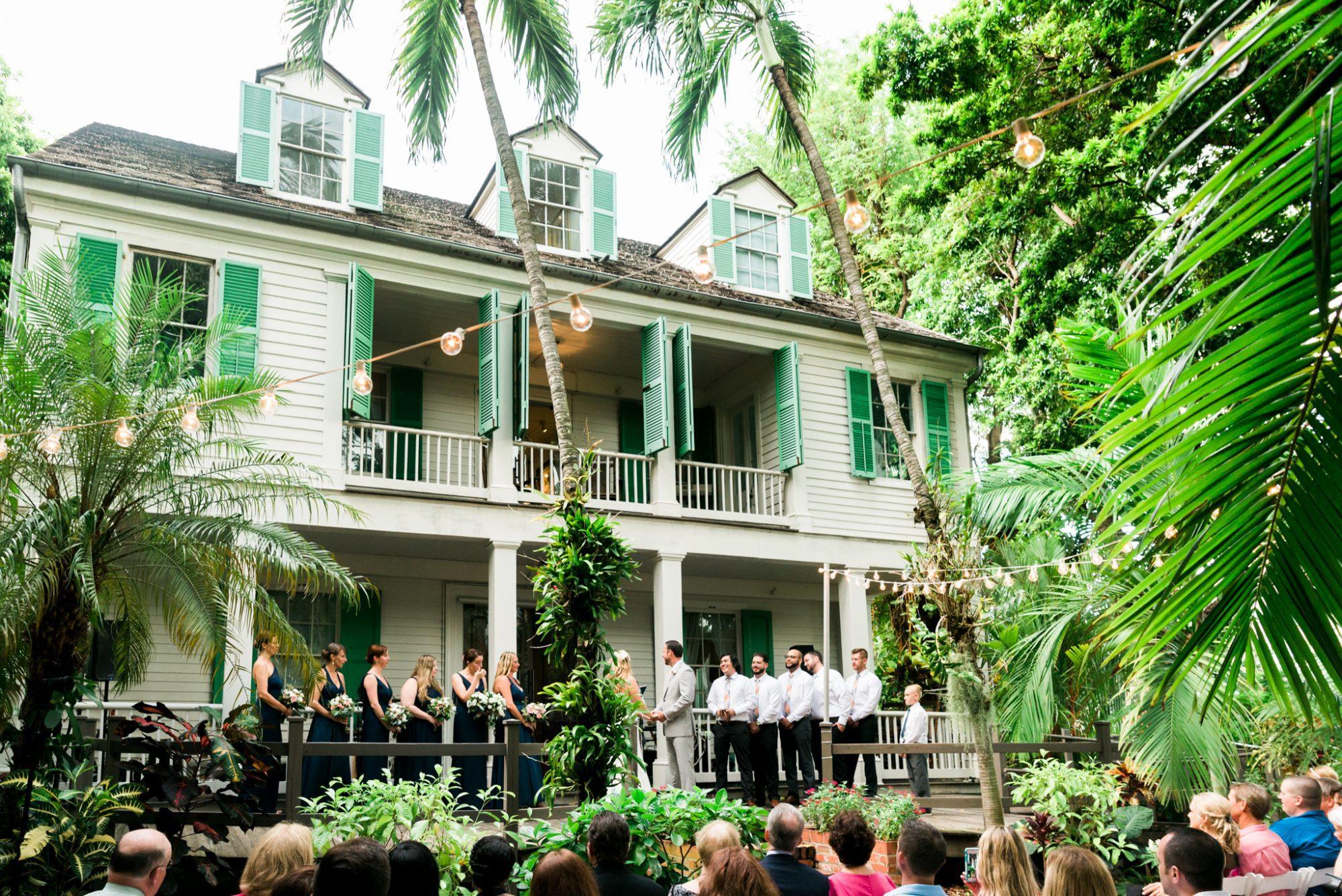Colleen Jonathan Audubon House Wedding Key West 46 - Colleen & Jonathon | Audubon House and Gardens | Key West Wedding