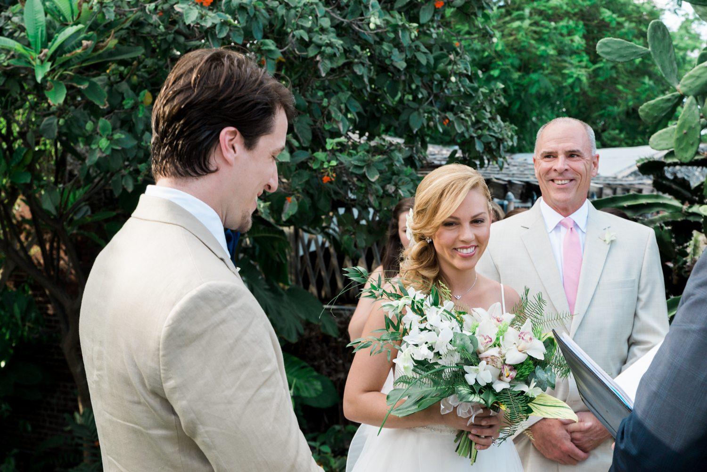 Kate Brian Key West Garden Club Wedding 33 - Kate & Brian   Key West Wedding Photographer   West Martello