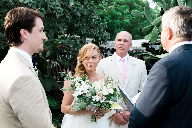 Kate Brian Key West Garden Club Wedding 34 - Kate & Brian   Key West Wedding Photographer   West Martello