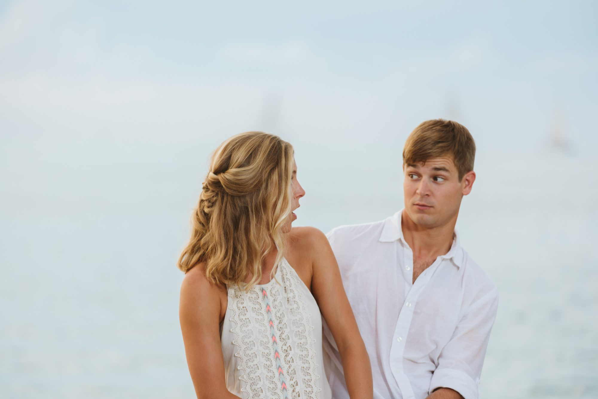 Shelby Jake Engagement Photos 42 - Shelby & Jake - Key West Wedding Photographer - Fort Zachary Taylor