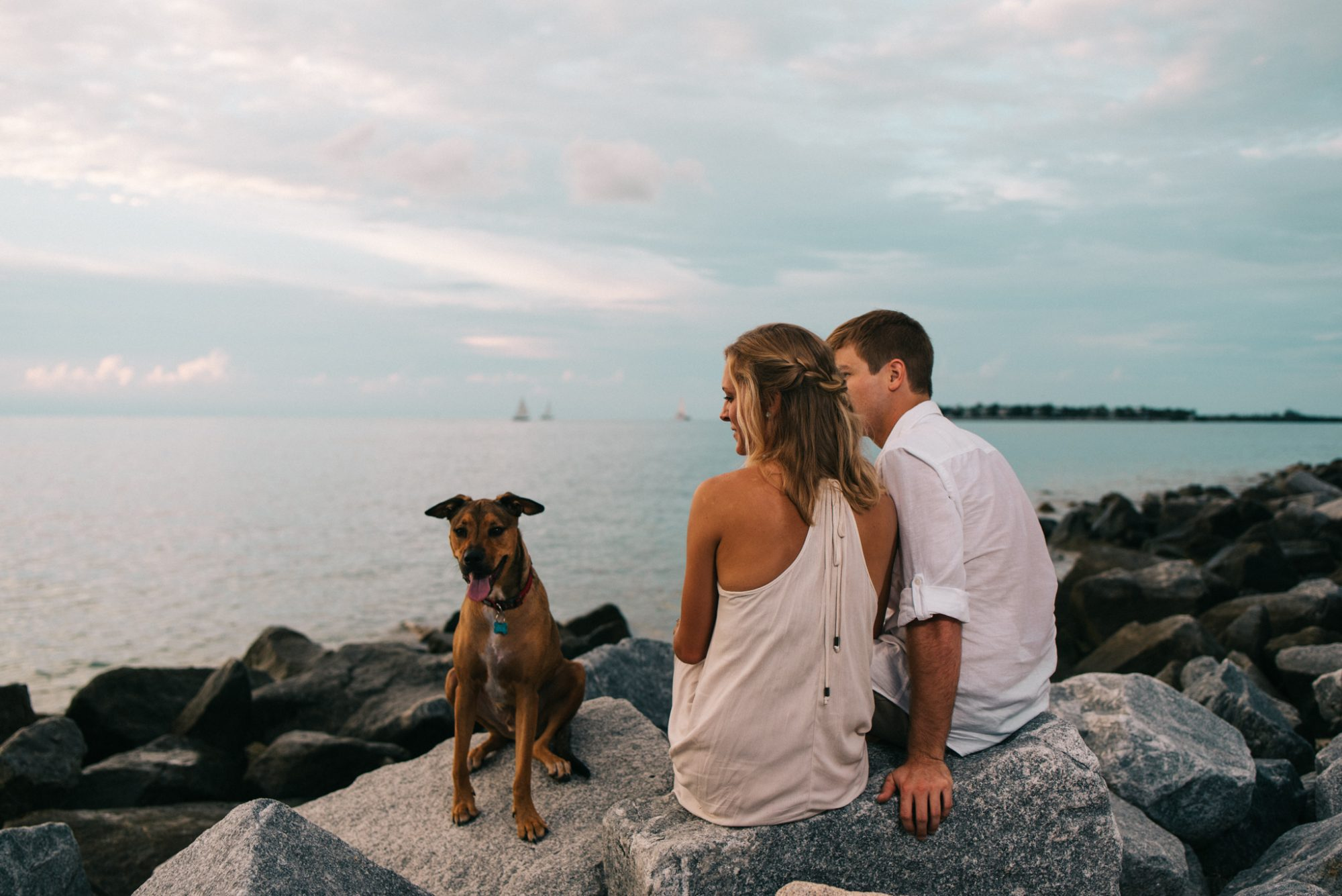 Shelby Jake Engagement Photos 46 - Shelby & Jake - Key West Wedding Photographer - Fort Zachary Taylor