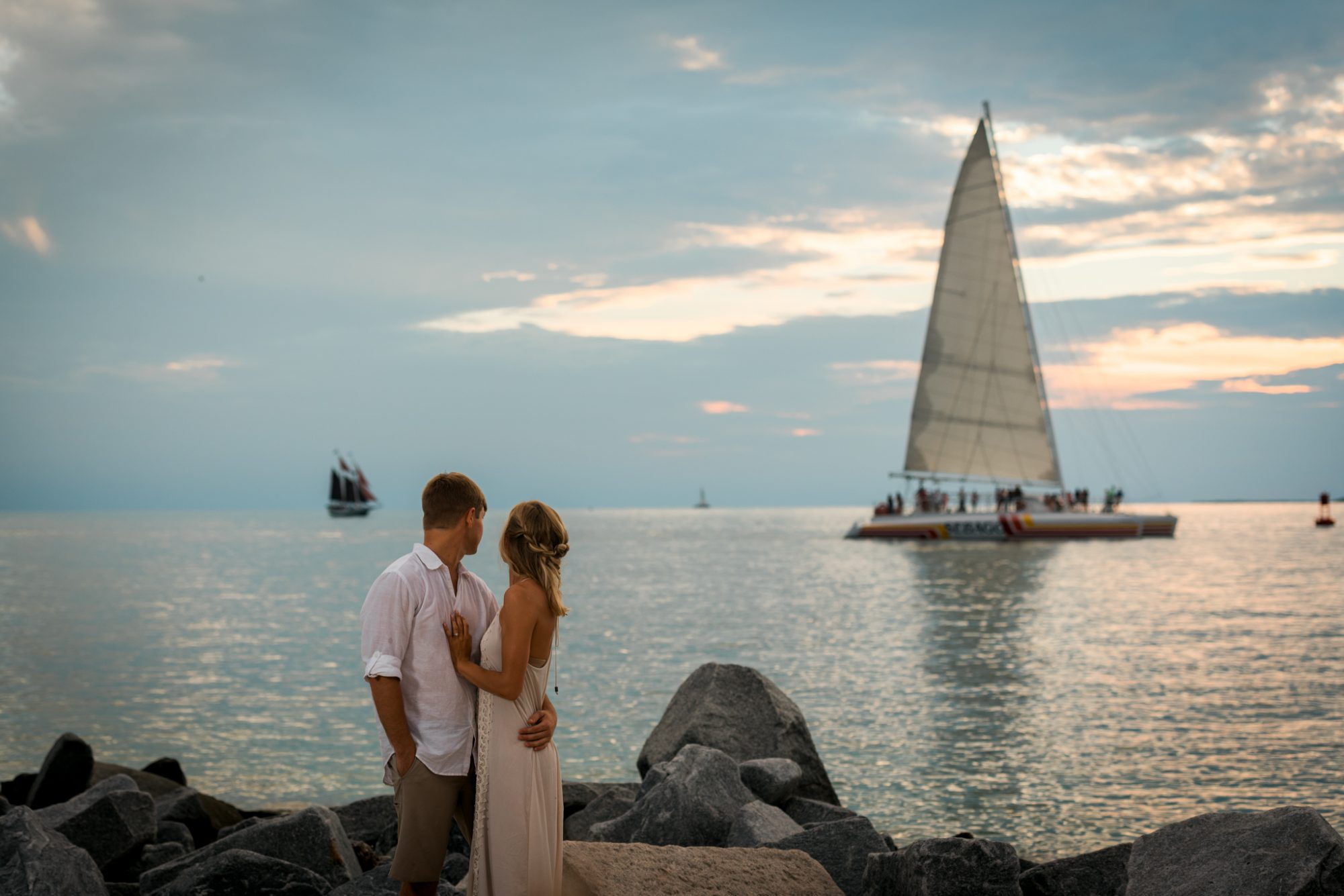 Shelby Jake Engagement Photos 48 - Shelby & Jake - Key West Wedding Photographer - Fort Zachary Taylor