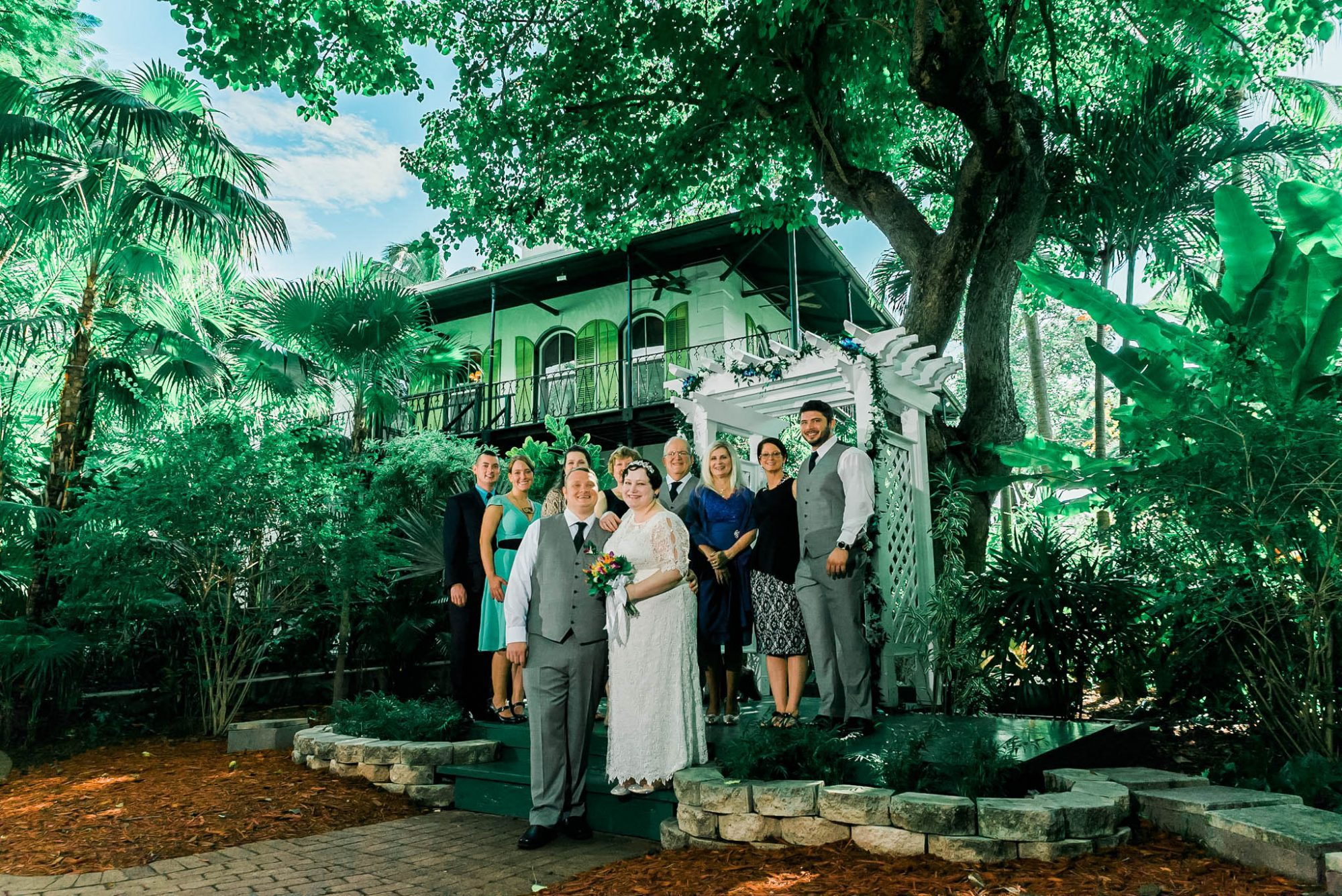 Becca and Leigh + Hemingway Home + Key West -277
