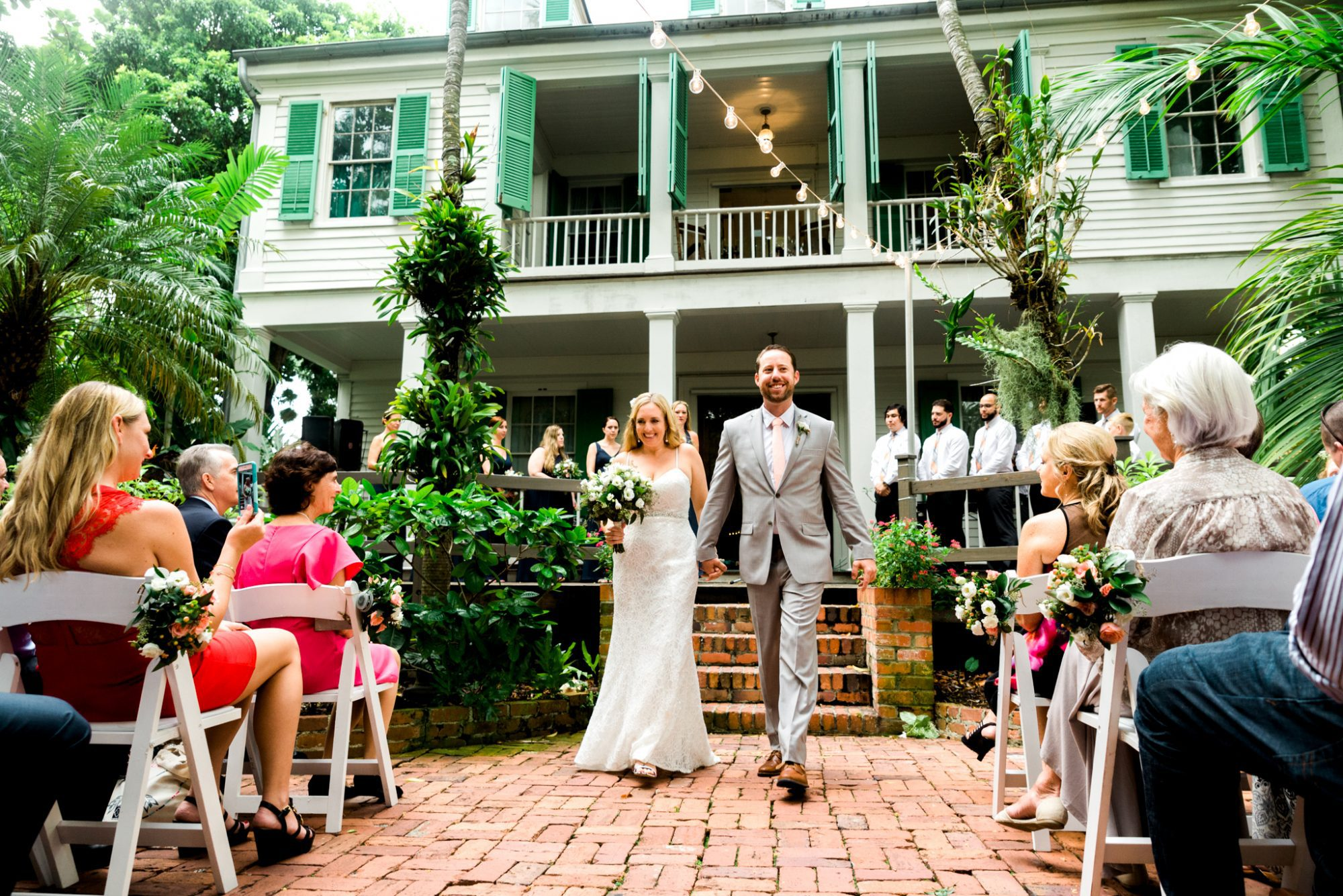 south florida wedding photographer key west wedding audubon house