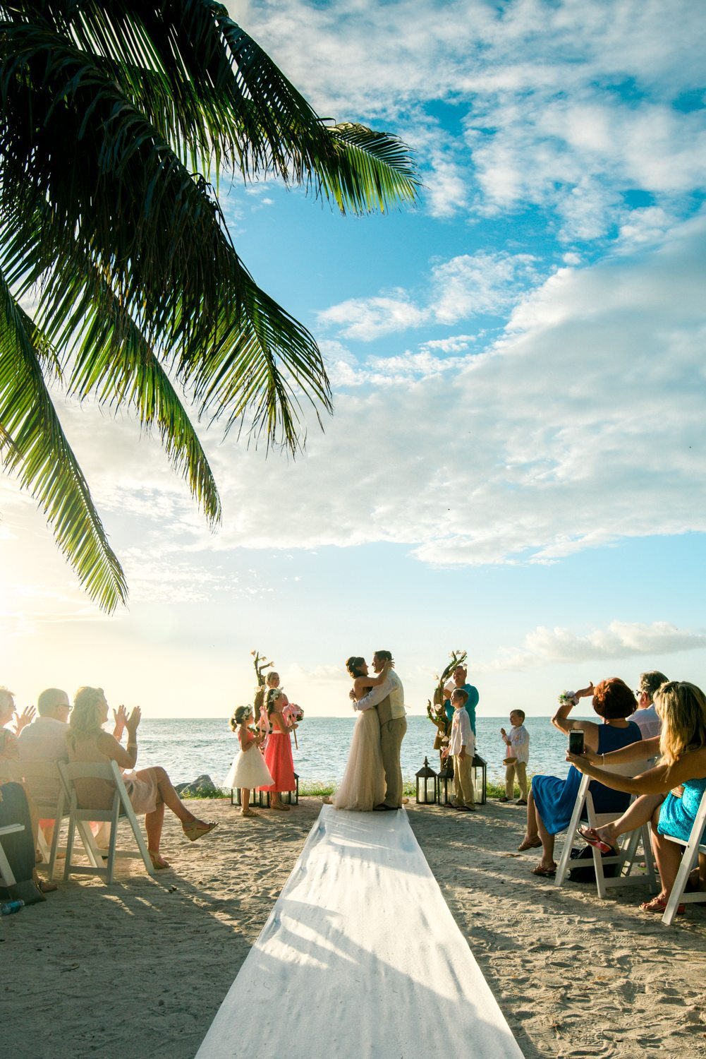 Erin Colin Fort Zachary Taylor Rooftop Cafe Key West Wedding Photographer 44 - Erin & Colin   Key West Wedding Photographer   Fort Zachary Taylor