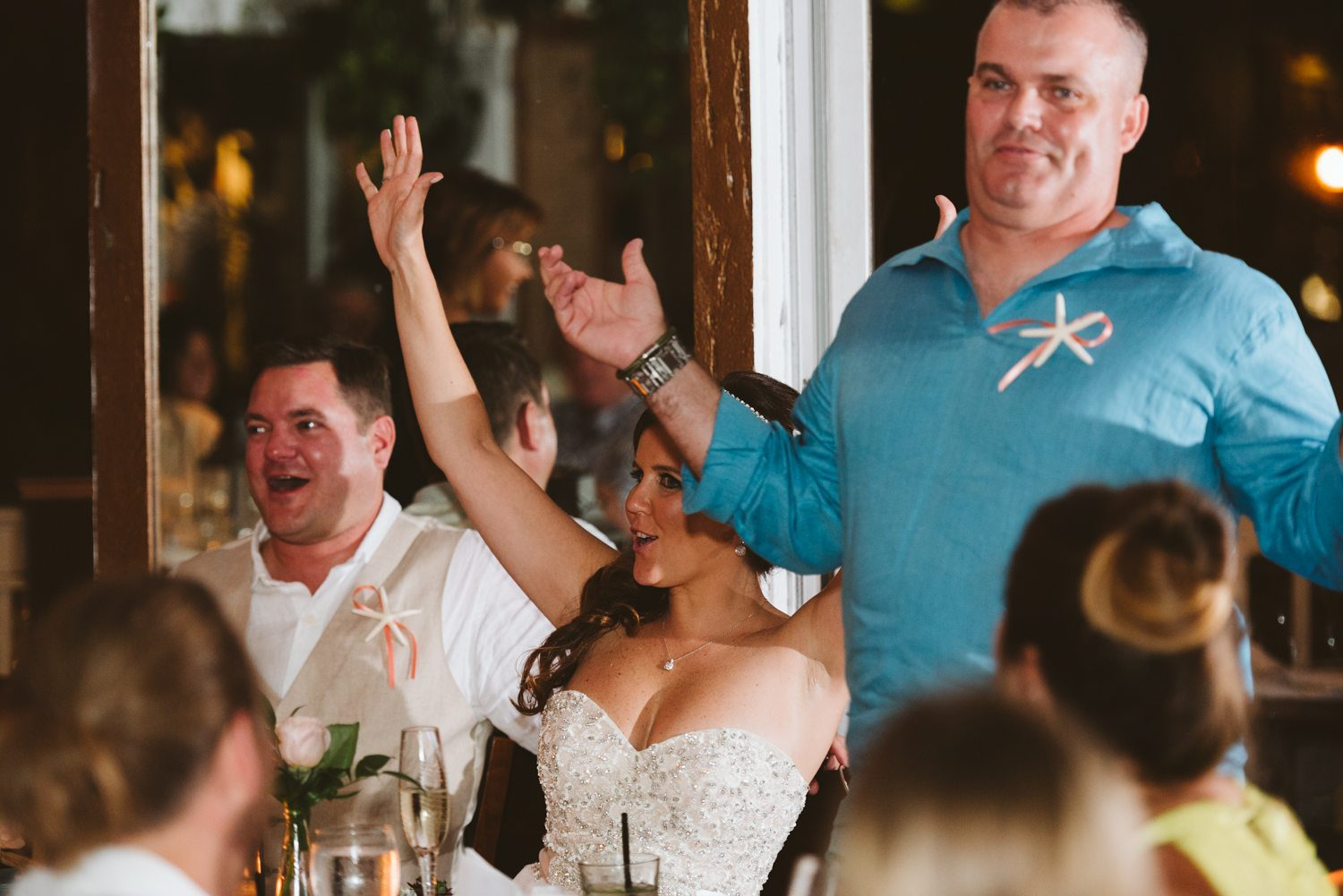 Erin Colin Fort Zachary Taylor Rooftop Cafe Key West Wedding Photographer 65 - Erin & Colin   Key West Wedding Photographer   Fort Zachary Taylor