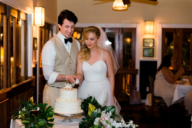 key west garden club wedding photos
