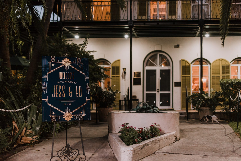 Hemingway_Home_Wedding_Jess_Ed-111 weddings wedding lifestyle key west florida keys %sitename