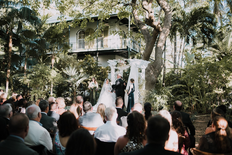Hemingway_Home_Wedding_Jess_Ed-68 weddings wedding lifestyle key west florida keys %sitename