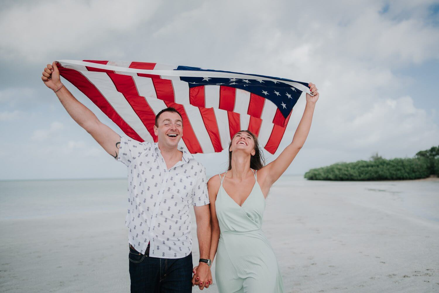 key west engagement session