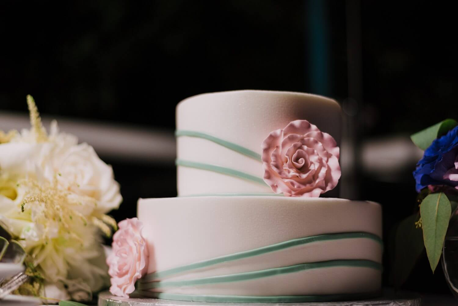 key west wedding cake