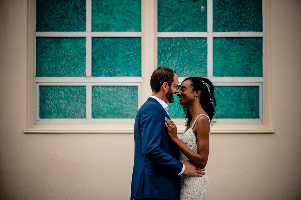 Couple Celebrate Wedding In Old Town Manor, Key West