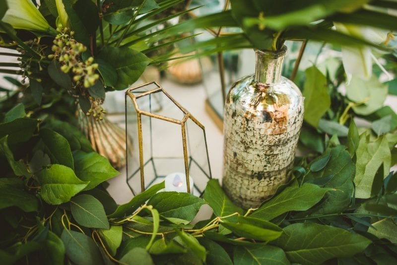 table decorations for beach wedding reception at southernmost beach resort