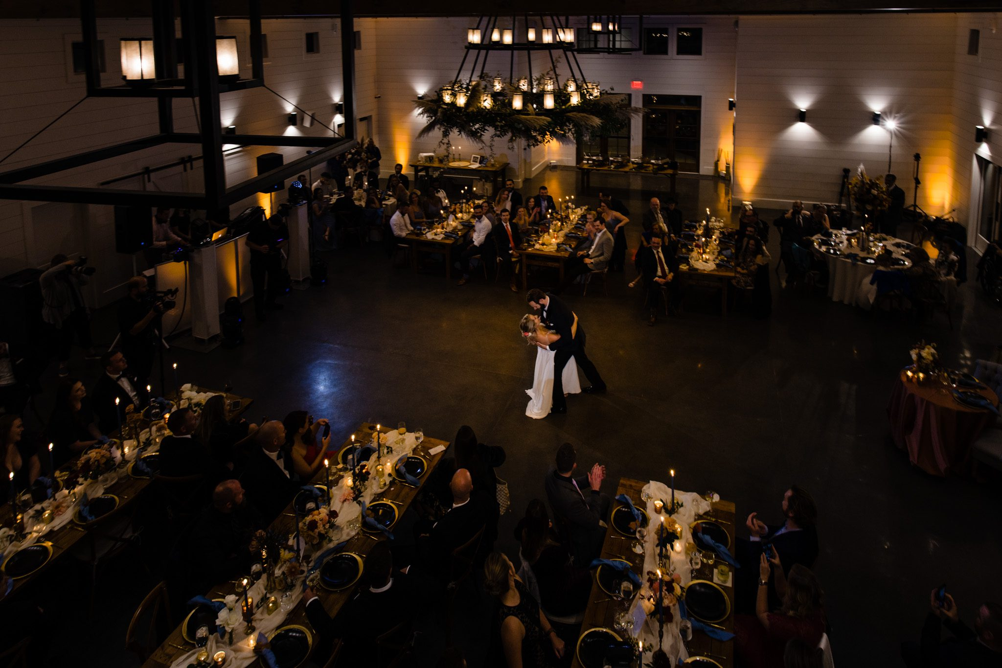 first dance at Chestnut Ridge wedding venue in Western North Carolina