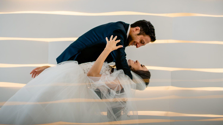 Wedding portrait in miami