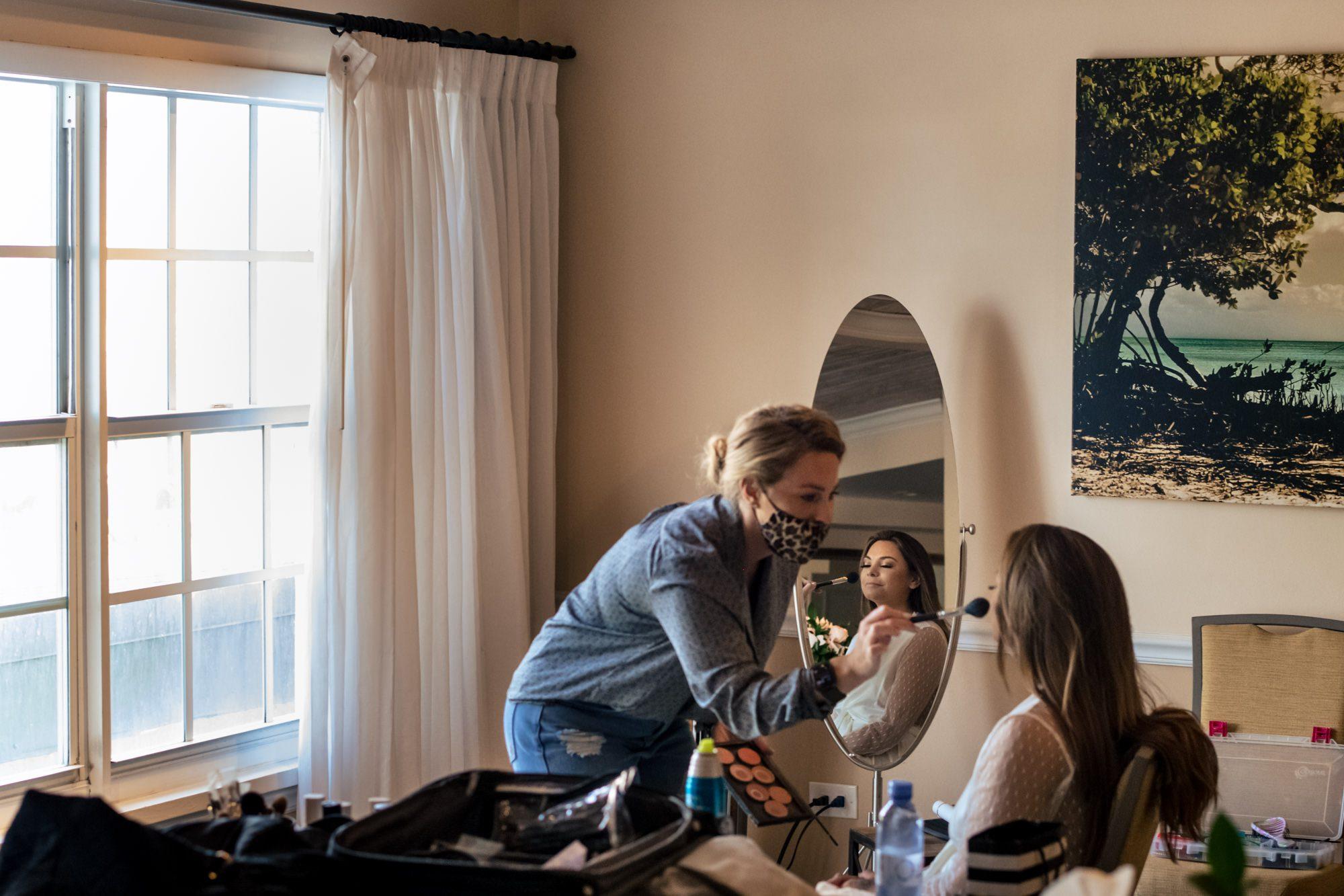 Bella luxe hair makeup airbrushing bride