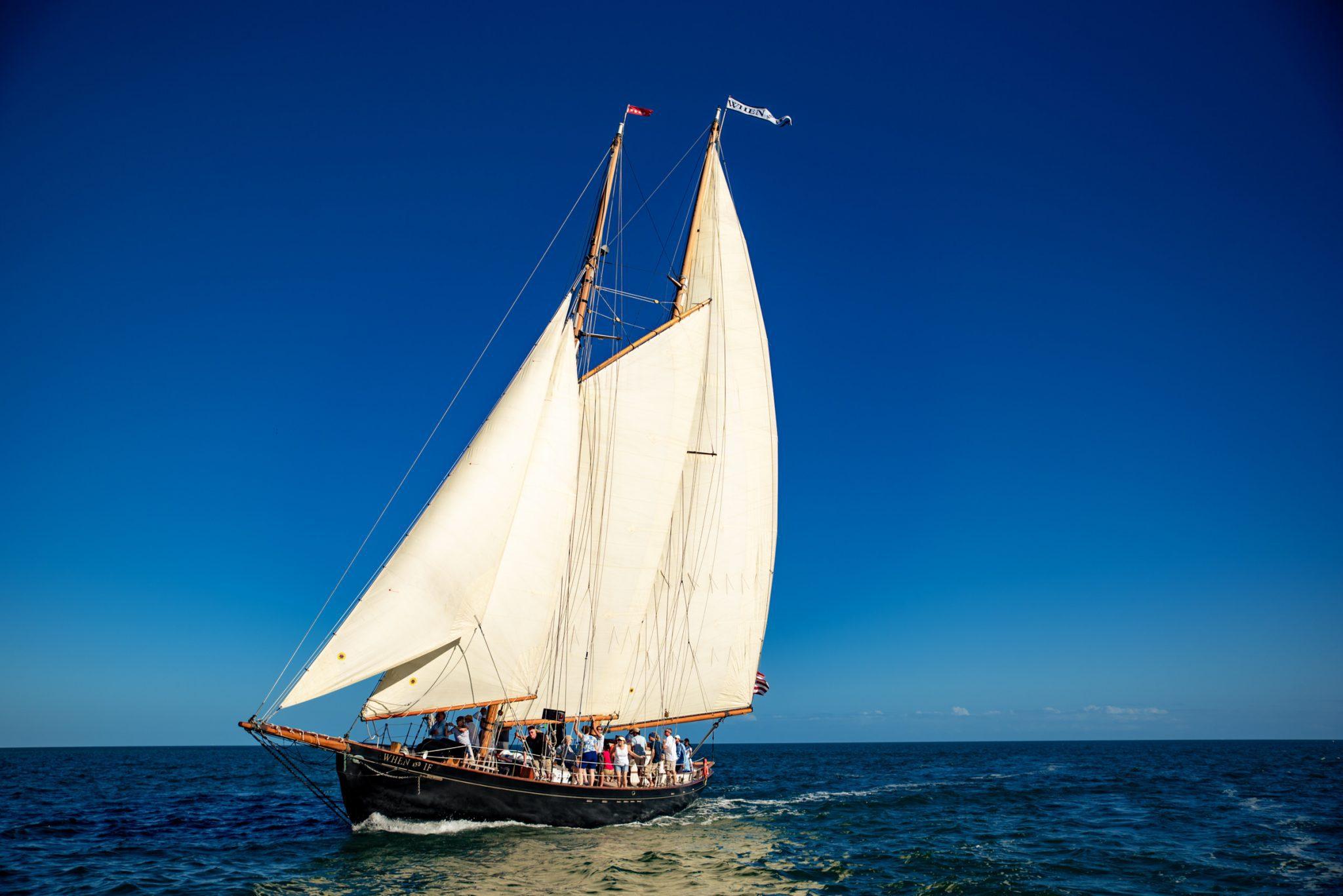 Sailboat in the florida keys