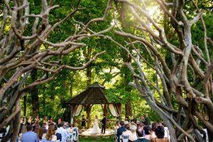 ceremony location The Farm Asheville Wedding Venue