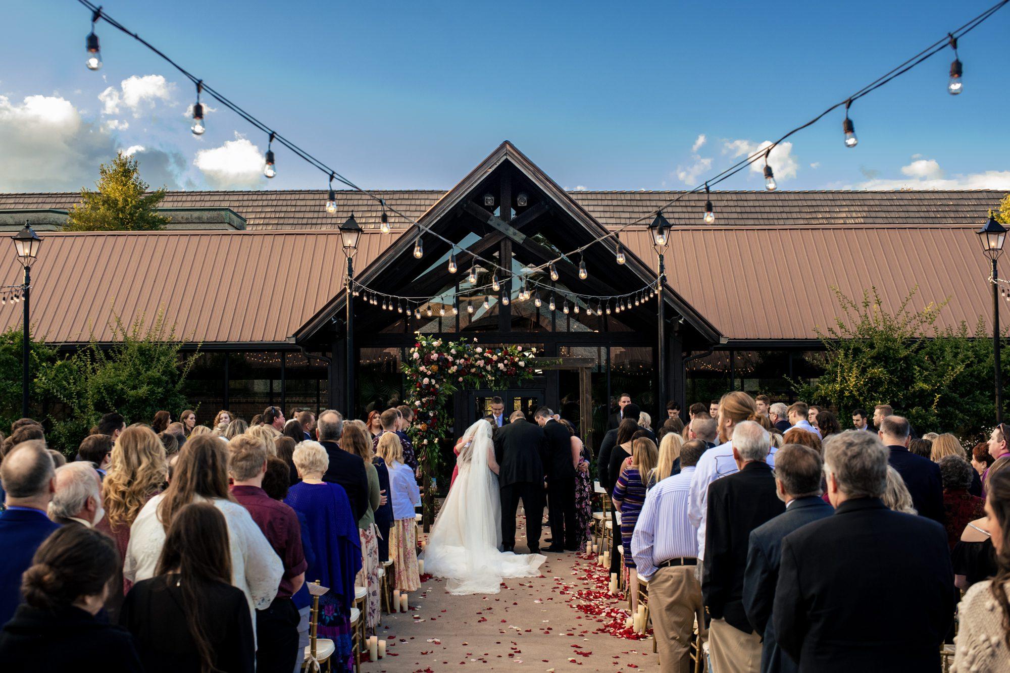 ceremony location Deer Park Biltmore wedding venue